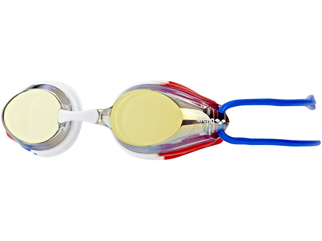 arena Tracks Jr Mirror Goggles Juniors gold-blue-red